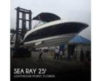 25 foot Sea Ray SDX250
