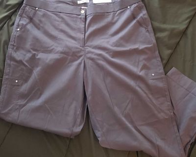 Brand New Cato Green Crop Pants, 22W