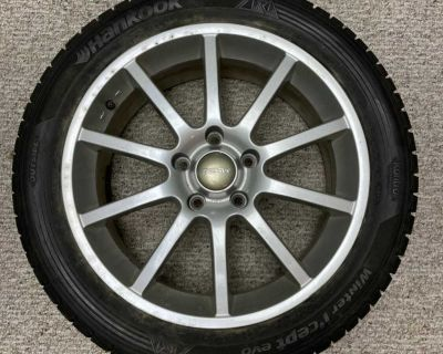 RSSW rims with winter rubber