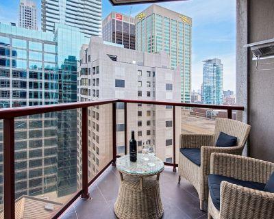 Ultimate Yorkville Luxury - Two-Bedroom Corner Suite (Kitchen, Balcony) [T6] - Bloor-Yorkville