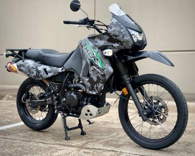 2018 Kawasaki KLR 650 Camo Dual Purpose Plano, TX