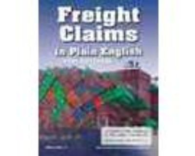 Freight Claims Freight Claims In Plain English