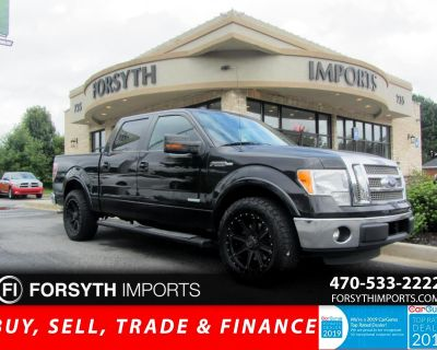 2012 Ford F-150 Lariat SuperCrew 5.5-ft. Bed 2WD