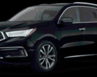 2019 Acura MDX Advance with Entertainment Package