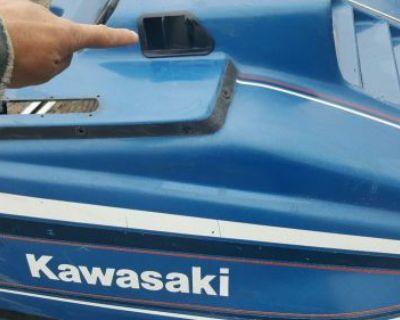 Vintage Kawasaki Snowmobile Drifter 340 440 Fan Cooled Hood Vents