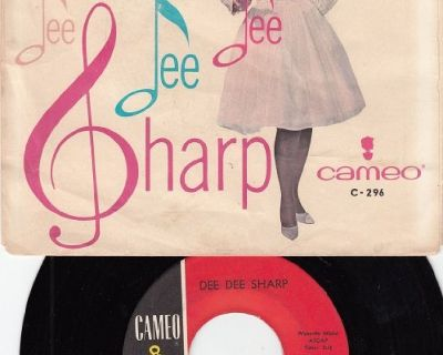DEE DEE SHARP ~ Willyam Willyam*VG*Picture Sleeve & 45 !