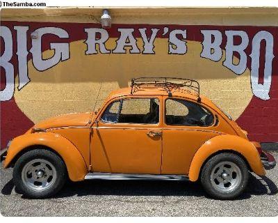 1974 VW standard bug - Cheeto
