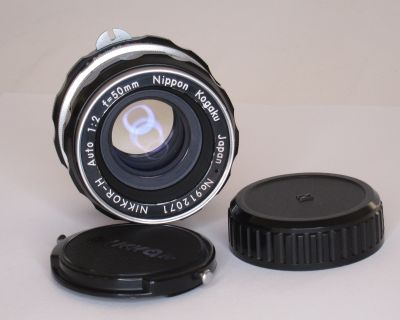 FS: Nikkor-H Auto 50mm f2 Lens, Nikon F mount pre-AI