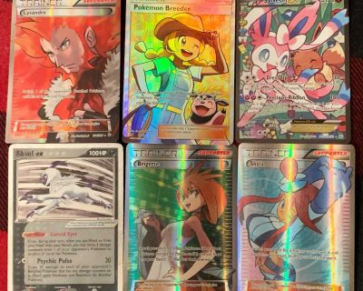 Selling a small collection of Pokemon items