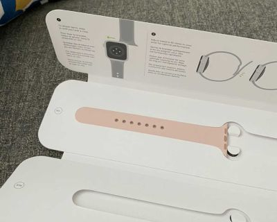 Large Apple Watch band for trade