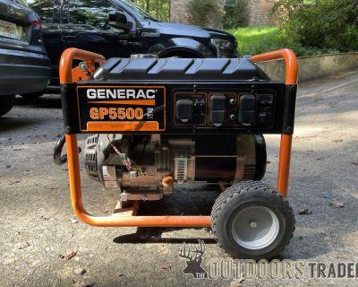 FS Generac 5500watt Generator