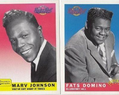 EMI Legends of Rock N' Roll ~ Marv Johnson & Fats Domino*MINT- !