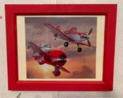 3 Disney Pictures in Frames