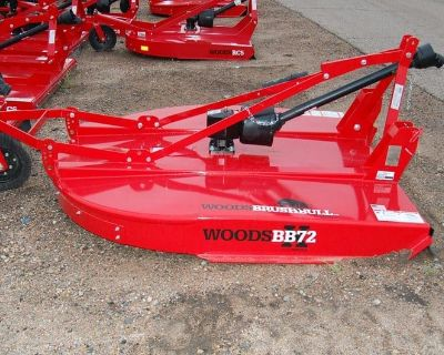 2021 Woods BB72.30 BrushBull Single Spindle Cutter Rotary Cutters Tupelo, MS