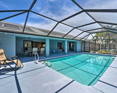 NEW! Bright & Airy Cape Coral Home w/ Lanai & Pool - Pelican