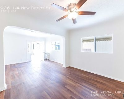 Spacious 2 Bed/ 1 Bath In Chinatown | Laundry In-Unit | Large Private Patio + Parking Included!