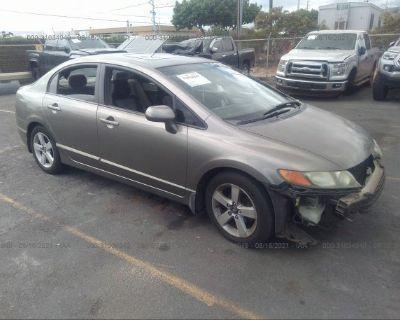 Salvage Gray 2006 Honda Civic Sdn