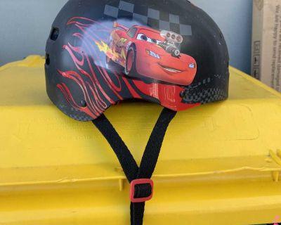 Cars skateboard/bike helmet