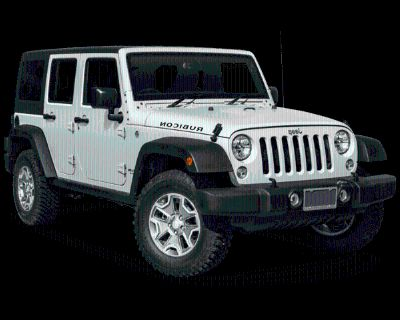 Pre-Owned 2017 Jeep Wrangler Unlimited Rubicon 4WD 4D Sport Utility