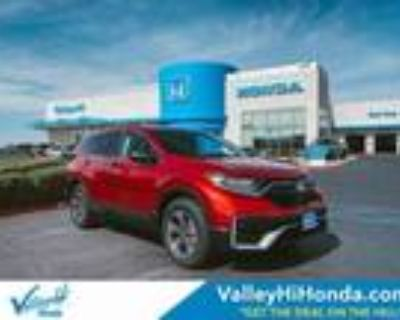 2021 Honda CR-V Red