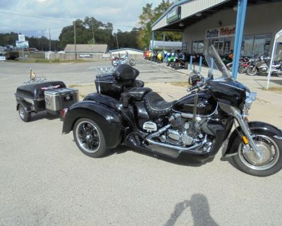 2005 Yamaha Venture Trike with trailer