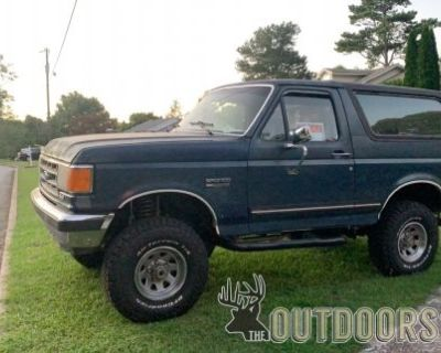 FS 1987 Ford bronco