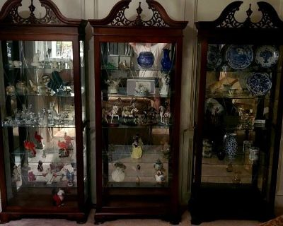 Huge Home LOADED With Furniture, Crystal, Artwork, Display Cases, tons of Women's Clothing & More