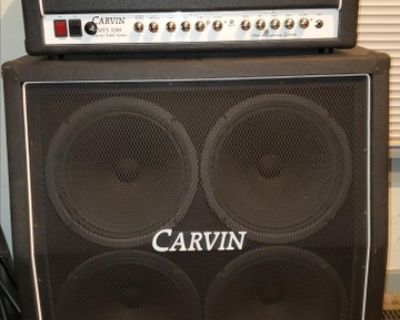 Carvin MTS 3200 tube amplifier