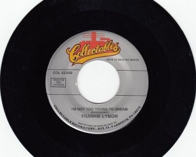 FRANKIE LYMON ~ I'm Not Too Young*Mint-45 !