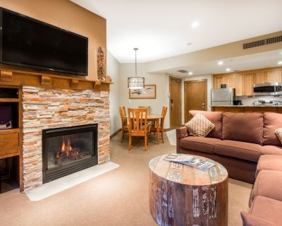 Comfortably furnished condo overlooking Canyons Village - Park City