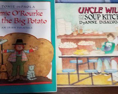 2 Paperback books lot