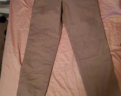 New men small kahki joggers pants 32/30