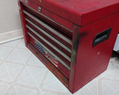 Metal Toolbox With Drawers