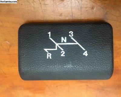NOS Ash Tray Cover Genuine VW (113 857 337 A)