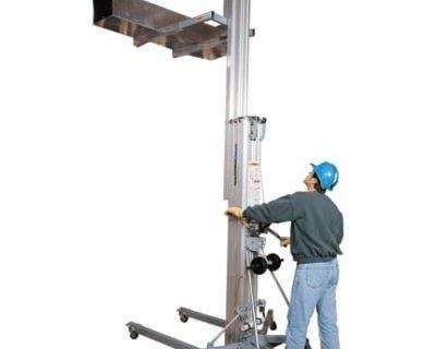 20 ft manual lift portable 800lbs