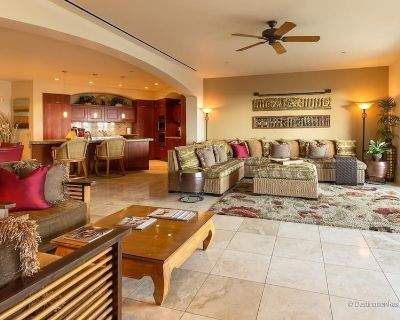 4-bedroom garden view suite next to family pool, expansive tiled great room - Wailea