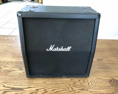 Marshall MG412A Guitar Speaker Cabinet 4x12 120Watts RMS