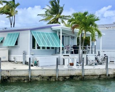 Venture Out #465 2/2 Tropical Getaway on Canal with Open Water View - Cudjoe Key