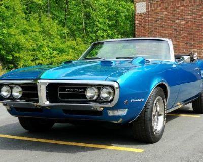 1968 Pontiac Firebird All-Steel Convertible Original Restored