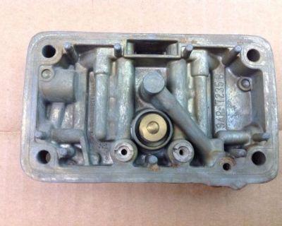 Holley 4 Barrel Carburetor Secondary Metering Block 6739 6210 650 Double Pumper