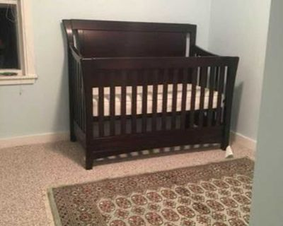 Convertible Crib / Toddler Day Bed