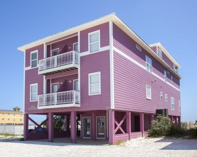 Sundancer East. Virtual Tour! Beachfront 5BR Pool! PERFECT location. Can be 10BR - Gulf Shores