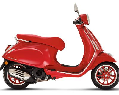 2022 Vespa Primavera 150 iGet Red Scooter Naples, FL