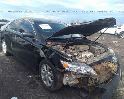 Salvage Black 2010 Toyota Camry