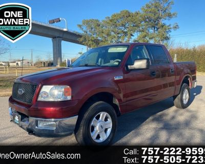 2004 Ford F-150 4X4 ONE OWNER
