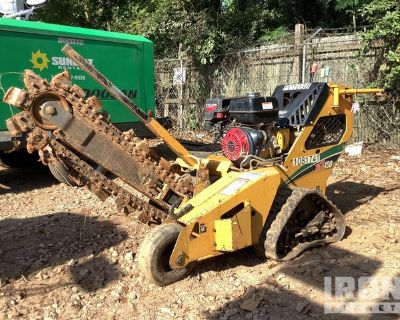 2016 (unverified) Vermeer RTX100 Tracked Walk Behind Trencher