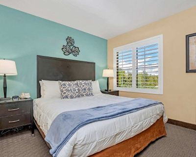 Near Disney - 1BR Suite with King Bed - Pool and Hot Tub - Orlando