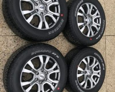 New Jersey - WTB: 18 inch black factory wheel and hankook dynapro atm tire - North Jersey