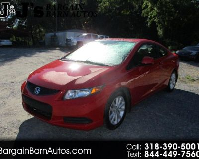 Used 2012 Honda Civic EX Coupe 5-Speed AT
