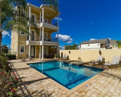 Fabulous! Reunion 5 Bed/6.5bath Home with Full Resort Access and Golf View - Reunion